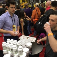 ARNOLD EXPO 2016 - Pure Nutrition Booth