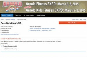Meet Us at Arnold Sports Festival 2015