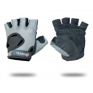 GLOVES MENS ADVANCED GREY & BLACK