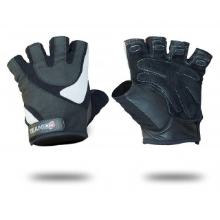 GLOVES MENS PRO GREY & BLACK