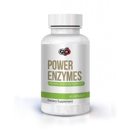 POWER ENZYMES - 60 CAPSULES