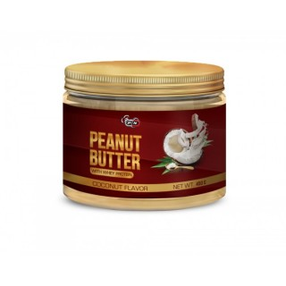 PEANUT BUTTER WITH WHEY PROTEIN - 450 g