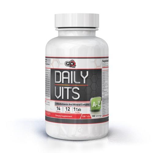 DAILY VITS - 100 tablets