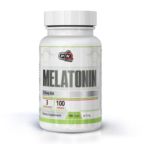 MELATONIN 3 mg - 100 capsules
