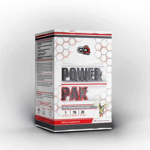 POWER PAK - 20 packets