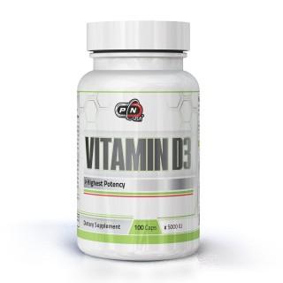 VITAMIN D3 5000 IU - 100 capsules
