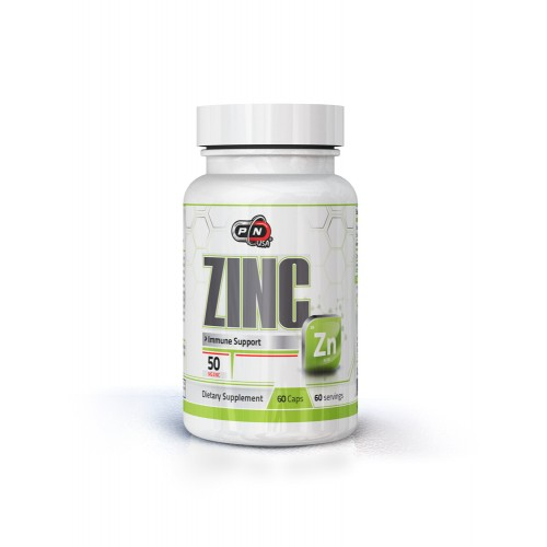 ZINC 50 mg - 60 caps